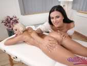 Threesome massage - 3D gallery photo