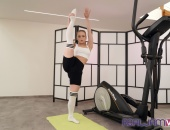 Flexible Anal in the Gym gallery photo